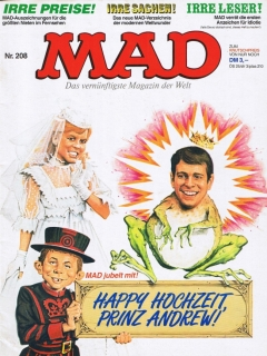 Go to MAD Magazine #208 • Germany • 1st Edition - Williams