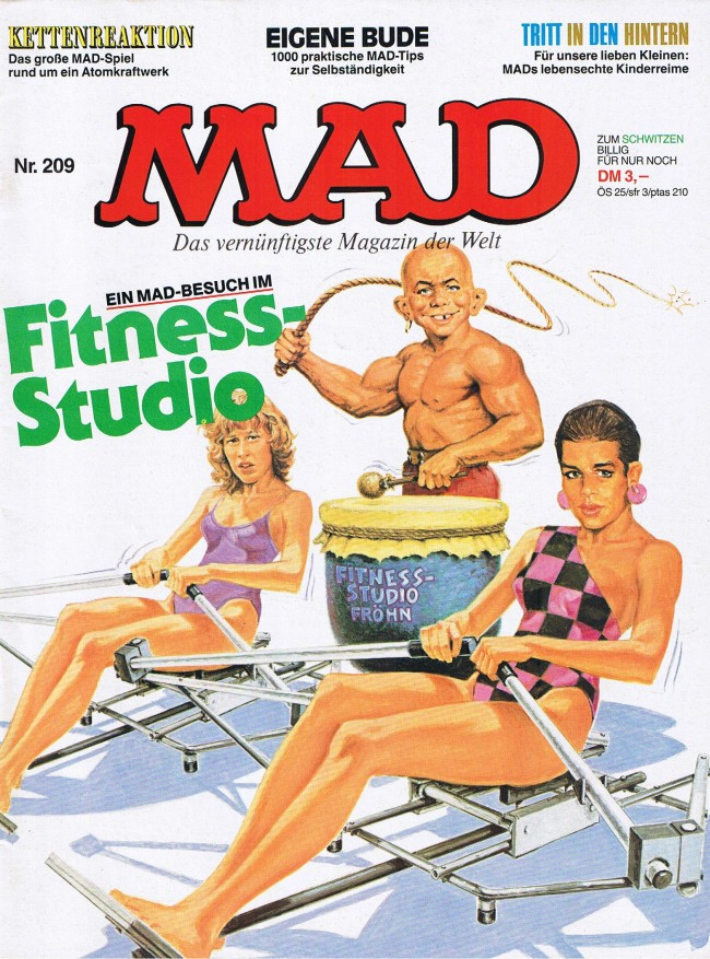MAD Magazine #209 • Germany • 1st Edition - Williams