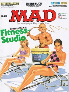Go to MAD Magazine #209 • Germany • 1st Edition - Williams