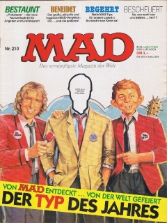 Go to MAD Magazine #210 • Germany • 1st Edition - Williams