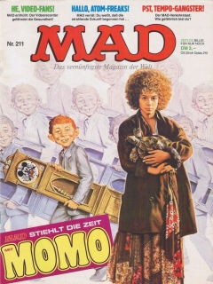 MAD Magazine #211 • Germany • 1st Edition - Williams