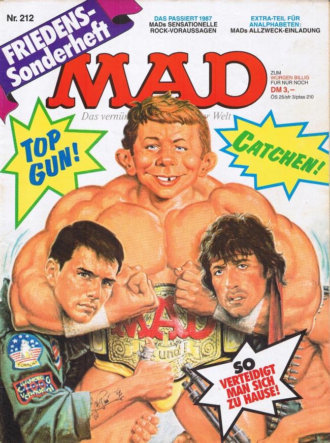MAD Magazine #212 • Germany • 1st Edition - Williams