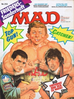 Go to MAD Magazine #212 • Germany • 1st Edition - Williams
