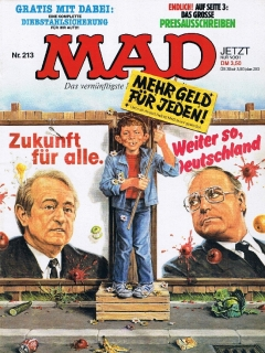 Go to MAD Magazine #213 • Germany • 1st Edition - Williams