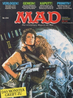Go to MAD Magazine #214 • Germany • 1st Edition - Williams