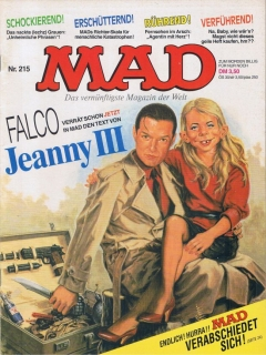 Go to MAD Magazine #215 • Germany • 1st Edition - Williams