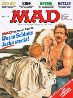 Go to MAD Magazine #216 • Germany • 1st Edition - Williams