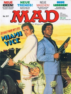 Go to MAD Magazine #217 • Germany • 1st Edition - Williams