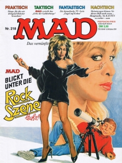 Go to MAD Magazine #218 • Germany • 1st Edition - Williams