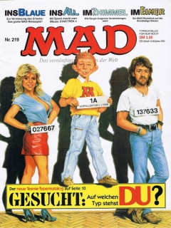 Go to MAD Magazine #219 • Germany • 1st Edition - Williams