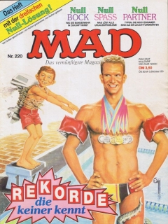 Go to MAD Magazine #220 • Germany • 1st Edition - Williams