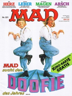 Go to MAD Magazine #221 • Germany • 1st Edition - Williams