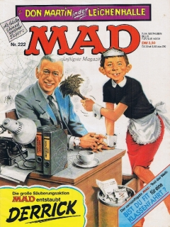 Go to MAD Magazine #222 • Germany • 1st Edition - Williams