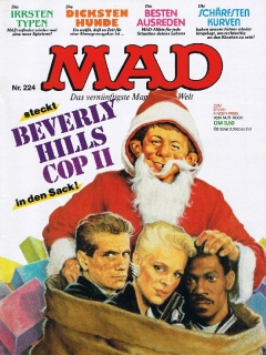 Go to MAD Magazine #224 • Germany • 1st Edition - Williams