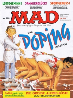 Go to MAD Magazine #226 • Germany • 1st Edition - Williams