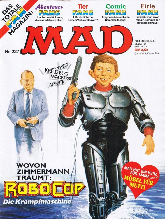MAD Magazine #227 • Germany • 1st Edition - Williams