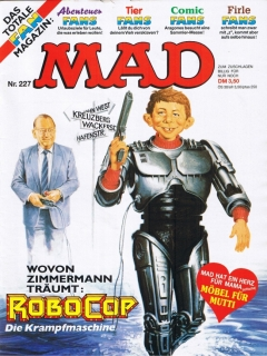 Go to MAD Magazine #227 • Germany • 1st Edition - Williams