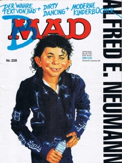 Go to MAD Magazine #228 • Germany • 1st Edition - Williams