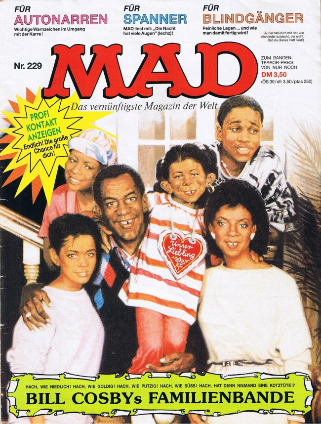 MAD Magazine #229 • Germany • 1st Edition - Williams