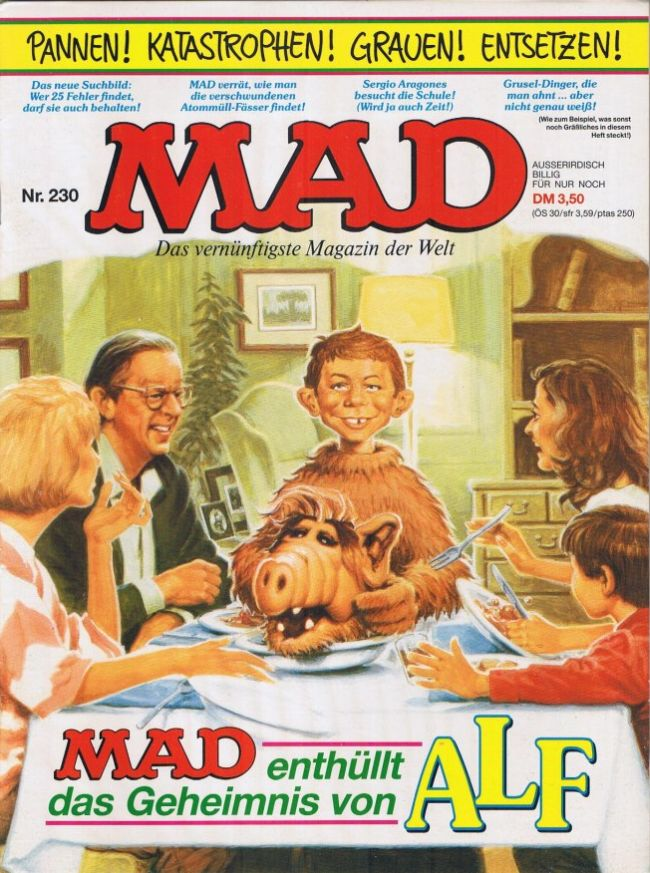 MAD Magazine #230 • Germany • 1st Edition - Williams
