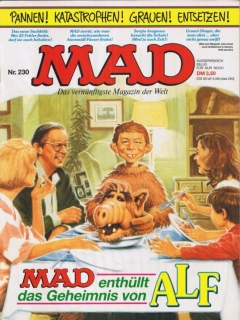 Go to MAD Magazine #230 • Germany • 1st Edition - Williams
