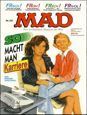 MAD Magazine #231 • Germany • 1st Edition - Williams