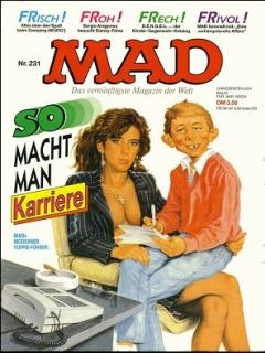 Go to MAD Magazine #231 • Germany • 1st Edition - Williams