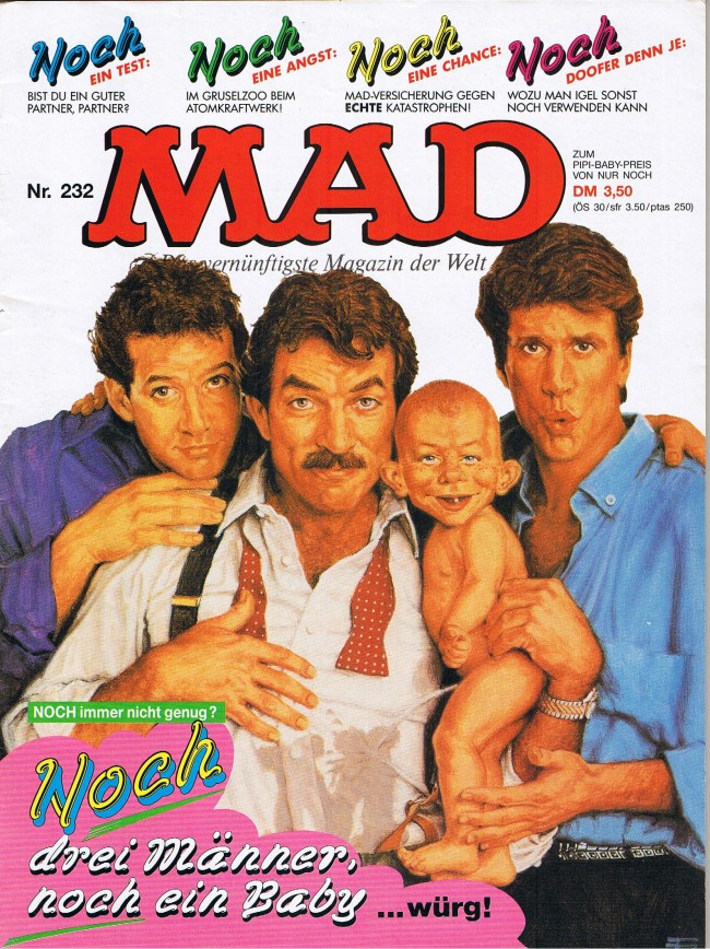 MAD Magazine #232 • Germany • 1st Edition - Williams