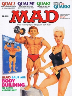 Go to MAD Magazine #233 • Germany • 1st Edition - Williams