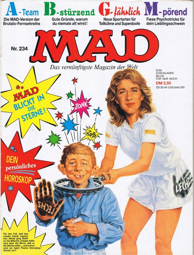MAD Magazine #234 • Germany • 1st Edition - Williams