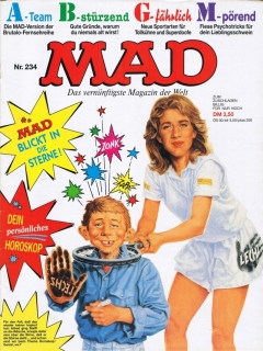 MAD Magazine #234 • Germany • 1st Edition - Williams