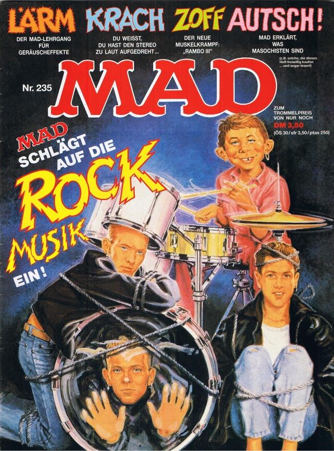 MAD Magazine #235 • Germany • 1st Edition - Williams