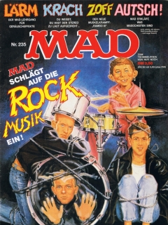 Go to MAD Magazine #235 • Germany • 1st Edition - Williams