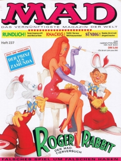 Go to MAD Magazine #237 • Germany • 1st Edition - Williams