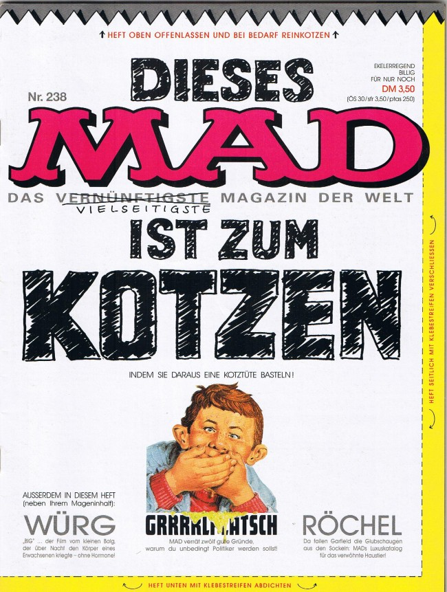 MAD Magazine #238 • Germany • 1st Edition - Williams