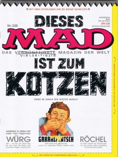 Go to MAD Magazine #238 • Germany • 1st Edition - Williams