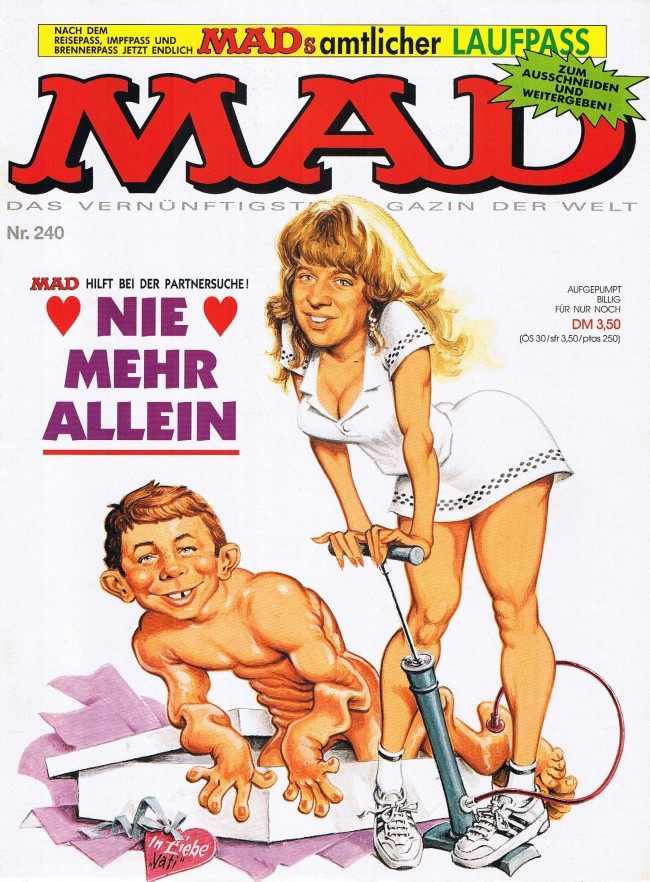 MAD Magazine #240 • Germany • 1st Edition - Williams