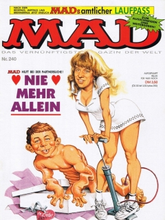 Go to MAD Magazine #240 • Germany • 1st Edition - Williams