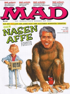 MAD Magazine #241 • Germany • 1st Edition - Williams