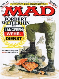 Go to MAD Magazine #242 • Germany • 1st Edition - Williams
