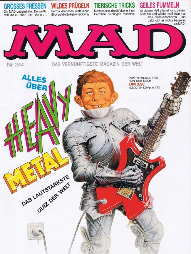 MAD Magazine #244 • Germany • 1st Edition - Williams
