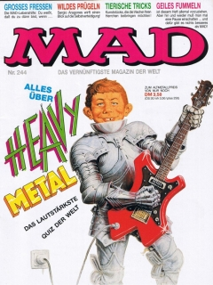 Go to MAD Magazine #244 • Germany • 1st Edition - Williams
