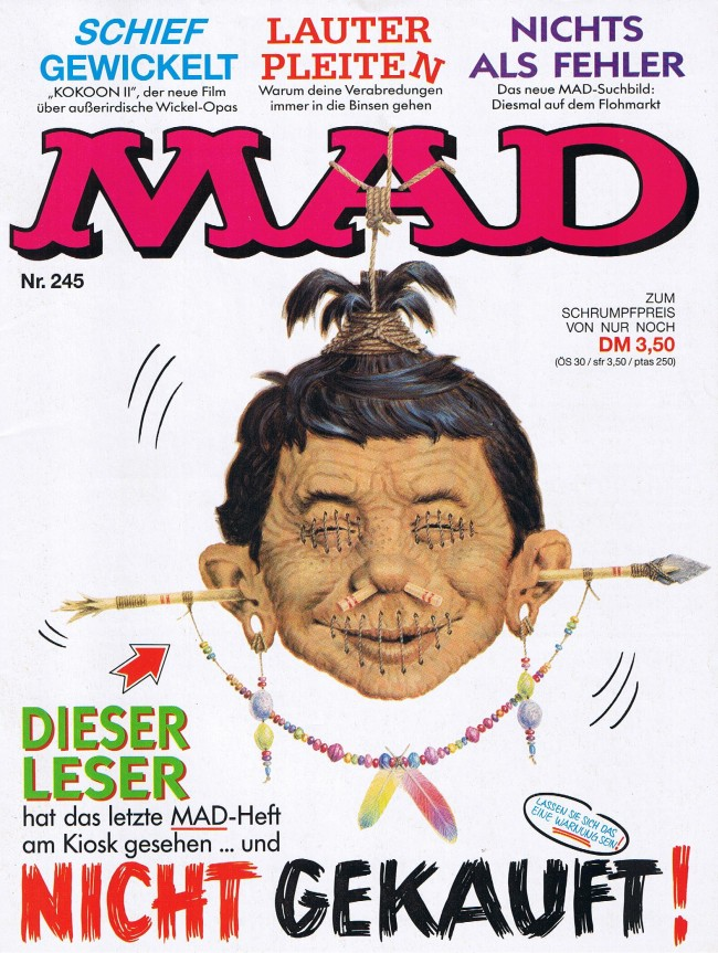 MAD Magazine #245 • Germany • 1st Edition - Williams