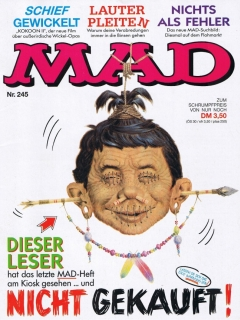 Go to MAD Magazine #245 • Germany • 1st Edition - Williams