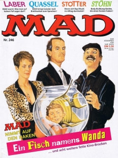 Go to MAD Magazine #246 • Germany • 1st Edition - Williams
