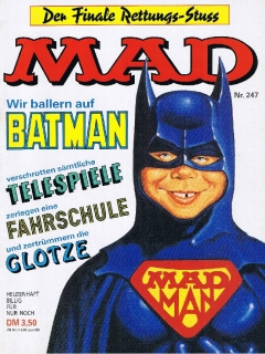 Go to MAD Magazine #247 • Germany • 1st Edition - Williams