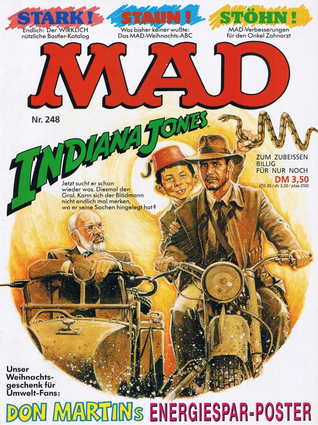 MAD Magazine #248 • Germany • 1st Edition - Williams