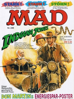 Go to MAD Magazine #248 • Germany • 1st Edition - Williams