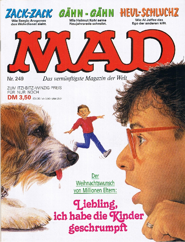 MAD Magazine #249 • Germany • 1st Edition - Williams