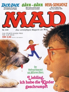 Go to MAD Magazine #249 • Germany • 1st Edition - Williams